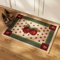 Second Life Marketplace   Apple Kitchen Rug | Apple Decorations For Kitchen  | Pinterest | Apples And Kitchens