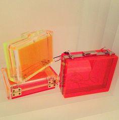 CC Skye neon bag collection