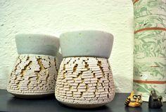 Karin Putsch-Grassi : vasi in grés   stoneware