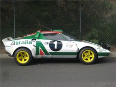 Lancia Stratos: There was nothing like this before - and nothing like it after.