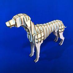 10$ Dalmatian 3D Puzzle with assembly guide by Unnote Cardboard 3d Puzzles, Dalmatian, Connection, Lion Sculpture, Statue, Unique, Art, Craft Art, Dalmatians