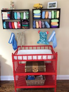 Cloth diaper storage Bumgenius