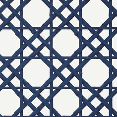 CYRUS CANE - GREY - Natty & Polly - Wallpaper Australia Oriental Wallpaper, Navy Wallpaper, Trellis Wallpaper, Beautiful Wallpaper, Trellis Design, Paint Effects, Lights Background, Blue Tones, Navy And White