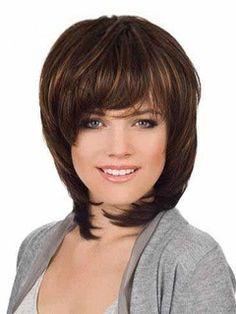 New Classic Medium Straight 100% Human Hair Wig 12 Inches Item # W22831  Original Price: $480.00 Latest Price: $141.79
