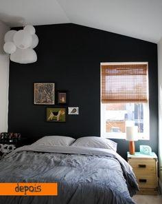 Quando a parede escura é (uma bela) solução - dcoracao.com - blog de decoração e tutorial diy