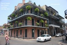 French Quarter, New Orleans, LA, USA May 2012