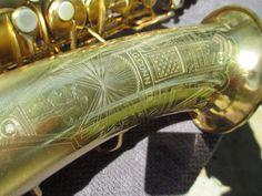 "CONN GOLD PLATED ""ART DECO"" TRANSITIONAL 6M Eb ALTO SAXOPHONE CIRCA 1932 | eBay"