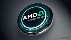 Technology AMD  Wallpaper