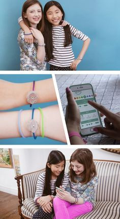 "Jewelbots ""Programmable friendship bracelets that teach girls the basics of coding. An open-source wearable for teens!""   jewelbots.com"
