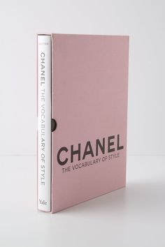 Chanel: The Vocabulary of Style (Yale University Press).