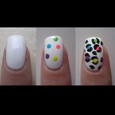 DIY Cheetah Nails - We could so do this @Josette Hutchinson Hutchinson Hutchinson Hutchinson Hutchinson Riffe !