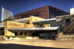 Austin City Hall named one of the country's most beautiful. With an interior filled with local art (The People's Gallery), City Hall is beautiful inside and out! | 12 Big, Bold and Beautiful City Halls - Governing.com