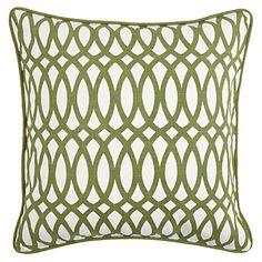 Apple green pillow