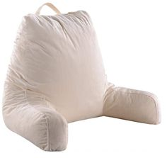 Cheer Collection Super Comfortable Foam-Filled TV and Reading Pillow