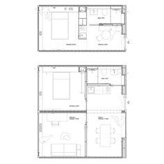 Mikro-Wohnungen von Joos Keller / Holzmodul für Heilbronn - Architektur und Architekten - News / Meldungen / Nachrichten - BauNetz.de