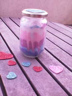 Ice cream cut jar!