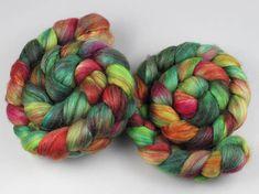 120g Lustre Blend Fine British wool merino silk combed