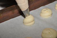 ετοιμάζουμε παστιτσάκια - we are baking pastitsakia, visit us at www. Rolling Pin, Rolls, Sweets, Food, Gummi Candy, Buns, Candy, Essen, Bread Rolls