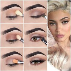 Here we have compiled simple eye makeup tips pictures. They can help you become an eye makeup expert. You can also easily get the perfect eye makeup. Eye Makeup Steps, Makeup Eye Looks, Simple Eye Makeup, Natural Eye Makeup Step By Step, Simple Eyeshadow Looks, Simple Eyeshadow Tutorial, Brown Eye Makeup Tutorial, Smokey Eye Makeup Tutorial, Natural Makeup