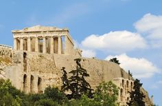 Athens & Acropolis #Piraeus #Athens #Greece http://www.yourcruisesource.com/two_chefs_culinary_cruise_-_istanbul_to_athens_greek_isles_cruise.htm