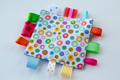 Baby Sensory Crinkle Crackle Toy  Multi Color by MyCreativeFrenzy, $7.50