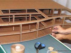 1000 images about meuble en carton on pinterest - Fabrication tete de lit ...