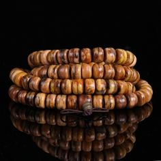 [$13.91] Indonesia Spent 08 Odd Nan Beads Tiger Stripes(7 / 9mm108 barrel beads)
