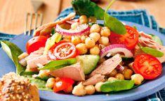 Von der Redaktion für Sie getestet: Kichererbsensalat mit Thunfisch. Gelingt immer! Zutaten, Tipps und Tricks