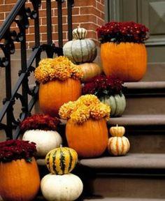 Easy DIY Front Door Fall Halloween Decor 245x300 DIY Fall Front Door Decorations Ideas