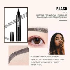 Stylo à Sourcils 4 Points – Mon Coin Positif Eyebrow Pencil, Eyebrow Makeup, Eyeliner, Eye Brows, Eyeshadow, Blackhead Vacuum, Blackhead Remover, Natural Eyebrows, Natural Skin