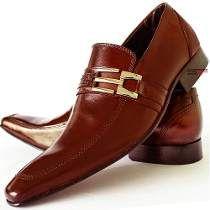 Sapato Social Masculino Couro Combina Calça Social Jeans !!