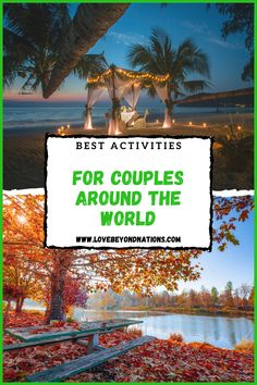 Find our 10 most romantic and couple friendly spots in the world. A bucket list every couple needs to complete. ;) Most Romantic, Travel Couple, Travel Guide, Bucket, Around The Worlds, Activities, Adventure, Couples, City