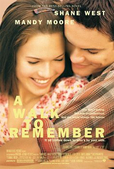 A WALK TO REMEMBER starring Mandy Moore (2002), based on the bestselling book by Nicholas Sparks!