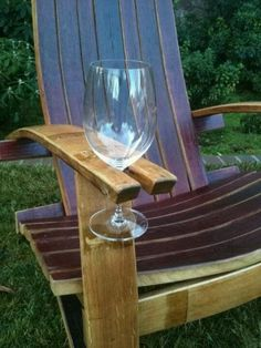 Wine Cask Chair