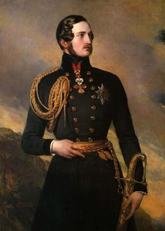 Wintherhalter, I think is the Prince Albert, Queen Victoria´s husband.