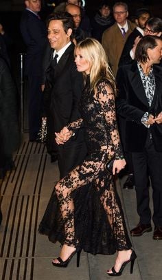 The Kate Moss Guide To Wearing All Black