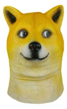 Wow. Very Doge. Such Mask.
