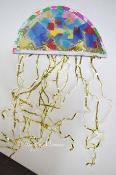 #Jellyfish craft for kids #preschool