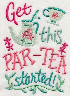 Get This Par-Tea Started