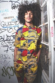 african fashion for him #print