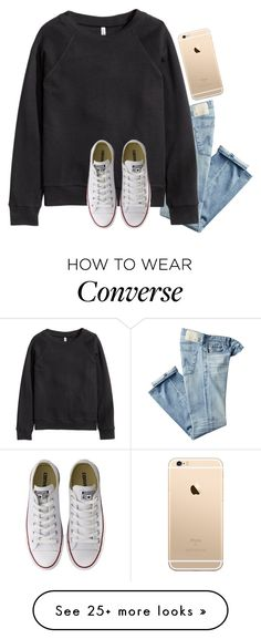 """""""Please go follow my second account! Rtd for info!!!!!"""" by jasietote on Polyvore featuring AG Adriano Goldschmied and Converse"""
