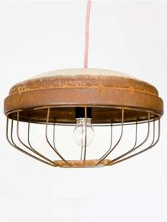 chicken feeder lighting repurpose-reuse-and-upcycle