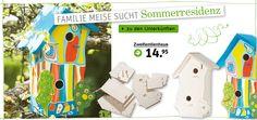 Vogelhäuschen - Doppelstock-Nistplatz für zwei Vogelfamilien!