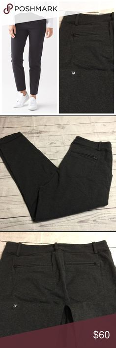 Lululemon Athletica pants This is a reposh as they are slightly to big for my liking.   Great condition never worn by me  Size 10 ✨If someone has an 8 and wants to trade I'd be up for it✨ lululemon athletica Pants
