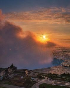 Take The Fall, Niagara Falls, Toronto, Celestial, Sunset, Nature, Outdoor, Outdoors, Naturaleza