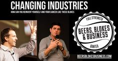 Reinvent yourself: How you can change industries. Insight, Industrial, Beer, Change, Canning, Business, Root Beer, Ale, Industrial Music