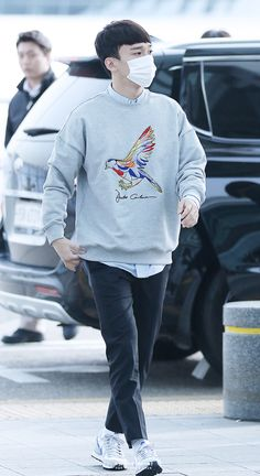 160307: EXO Chen (Kim Jongdae); Incheon Airport to Suvamabhumi Airport #exo…
