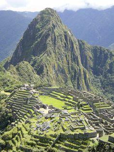 """Machu Picchu, Peru - Incan Ruins - The """"Lost City"""""""