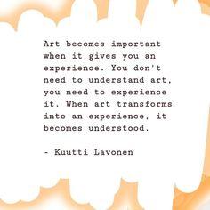 #artistquotes #kuuttilavonen Creative Diary, Artist Quotes, Words, Instagram, Horse