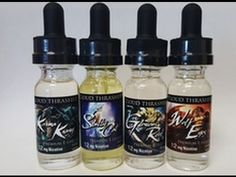 Cloud Thrasher Juice Line Review
